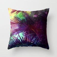 space tropicana Throw Pillow