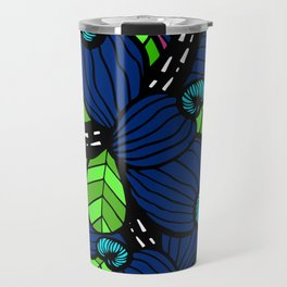 Pink & Blue Cashew Apple Travel Mug