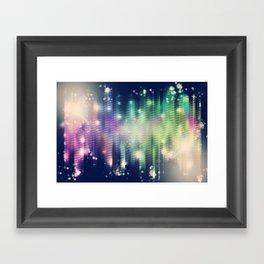 Pulse 2.0 - Vintage Tone Framed Art Print