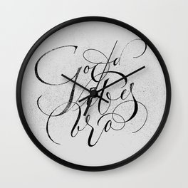 Good Vibes Bro Wall Clock