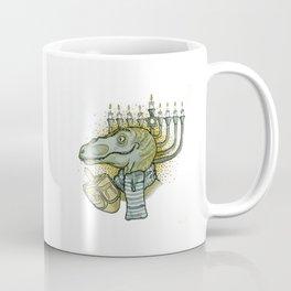 Hanukkah Dino Coffee Mug