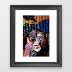 Thumb Sucker Framed Art Print