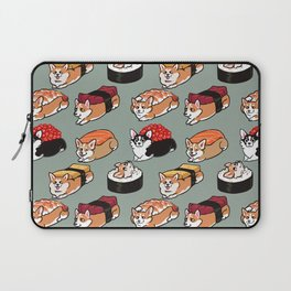 Sushi  Corgi Laptop Sleeve