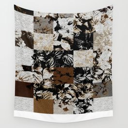 Foliage Patchwork #8 Wall Tapestry