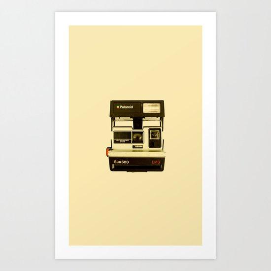 Polaroid Sun600 Art Print