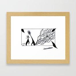 we have feelings too Framed Art Print