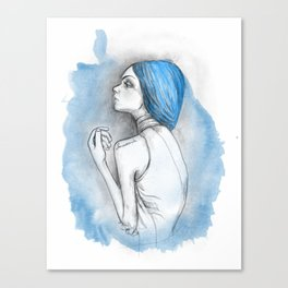 blue2 Canvas Print