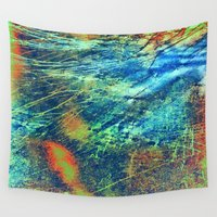 paper towns Wall Tapestries featuring Paper by RDKL, Inc.