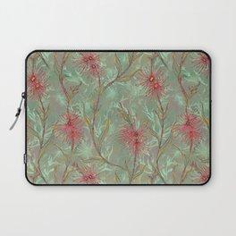 Red Gum Floral Laptop Sleeve