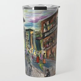 Fifty Cent Oysters Travel Mug