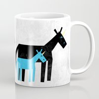 dad Mugs featuring Thanks Dad by That's So Unicorny