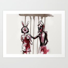Fancy Dress Party - Fiests de Disfraces Art Print