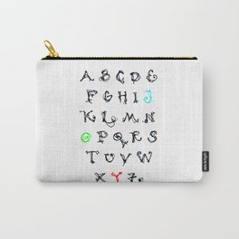Alphabet JOY Carry-All Pouch
