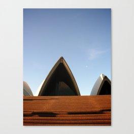 Sydney Opera House Front Door Canvas Print