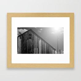 Barn 02 Framed Art Print