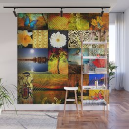 nature flowers  Wall Mural