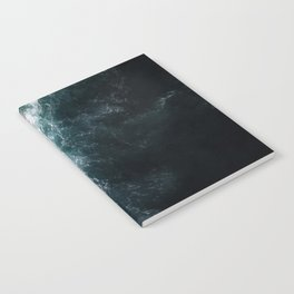 Oceanscape - White and Blue Notebook