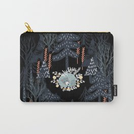 fairytale night forest Carry-All Pouch