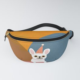 Little_French_Bulldog_LOVE_PARTY_Minimalism_001 Fanny Pack