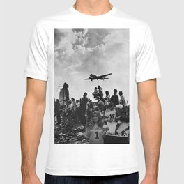 World War II Tailgate Party - Vintage Collage T-shirt