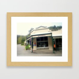Walhalla - The Corner Stores Framed Art Print