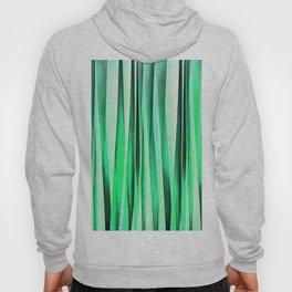 Turquoise Serenity Stripy Pattern Hoody