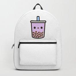 Love Heart Bubble Tea Backpack