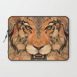 Boho Tribal Tiger Laptop Sleeve