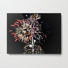 Fireworks 9 Metal Print