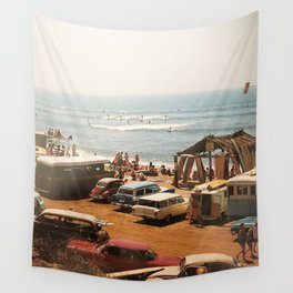 SoCal surf culture. 1964 Wall Tapestry