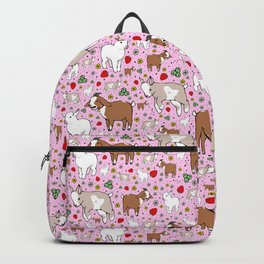 Cute Goat Design Backpack