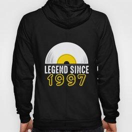 Birthday Present Legend Since 1997 Record Gift Hoody