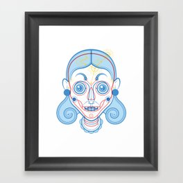 A Rare Girl Framed Art Print