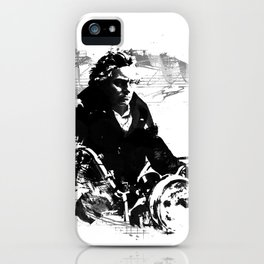 Beethoven Motorcycle iPhone Case