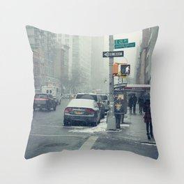 21st and Park Throw Pillow