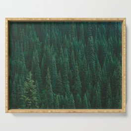 deep woods. Serving Tray