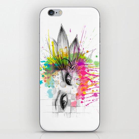 Beautiful Flower Eyes iPhone & iPod Skin