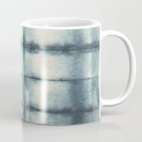 indigo Mugs featuring Indigo by Nicole Vertina
