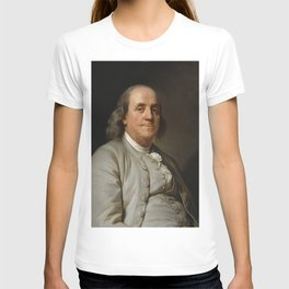 Benjamin Franklin Oil Painting T-shirt