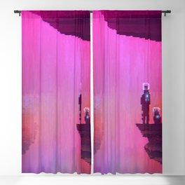 Waterfall | PixelArt #8 Blackout Curtain