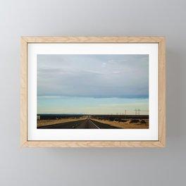 Texas Sky Framed Mini Art Print