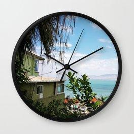 Tropical Turkey Wall Clock