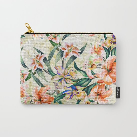 RPE Seamless Floral III Carry-All Pouch