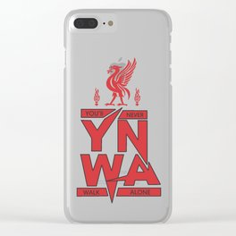 You'll Never Walk Alone Liverpool Clear iPhone Case