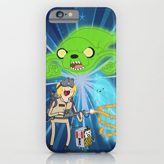 Ghostbusting Time iPhone & iPod Case