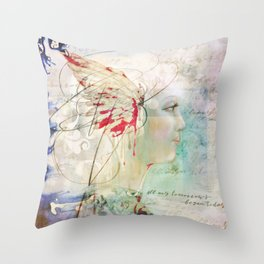 All My Tomorrows Begin Today Throw Pillow