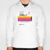 chill Hoodies featuring VHS and Chill by Anthony Troester