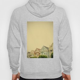 Painted Ladies in San Francisco - Fine Art Photography Hoody