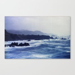 Typhoon in Japan #1 Canvas Print