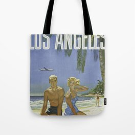 Summer Couple Tote Bag